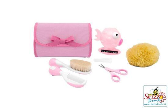 Set Bagno Neonato Chicco.Chicco Set Igiene Bagno Happy Bubbles Set Viaggio