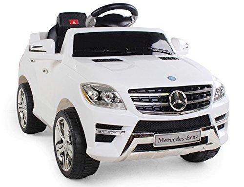 AUTO ELETTRICA PER BAMBINI 6V 2 MOTORI CON TELECOMANDO 2.4G MERCEDES BENZ ML 350