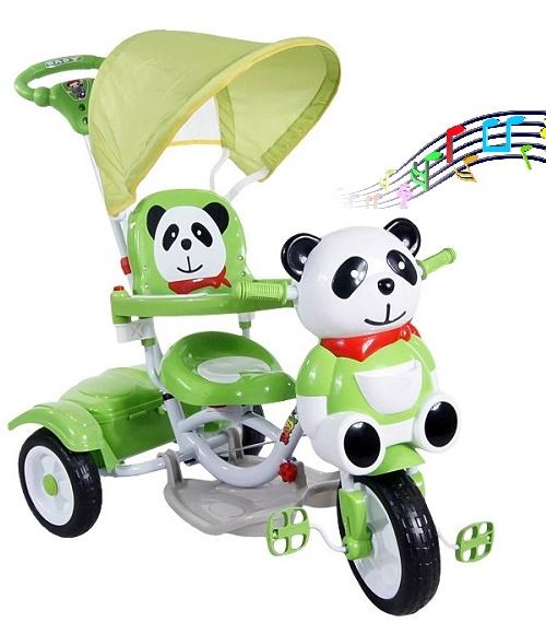 Triciclo-bimbo-panda-musicale-con-cappotta