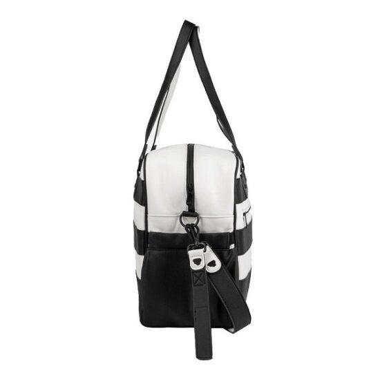 borsa bianco nera mayora123l