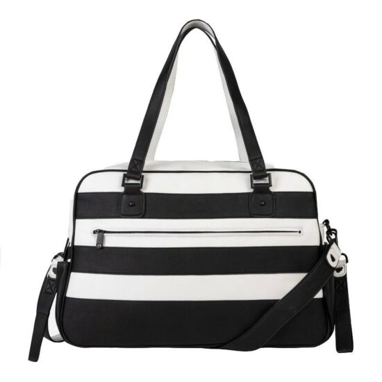 borsa bianco nera mayora1l