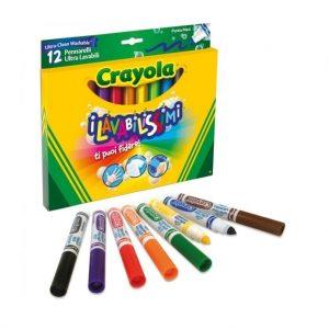 colori crayola - 12 colori lavabili