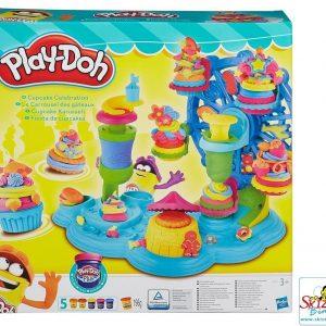 Play-Doh La Giostra Dei Cupcake Pasta Da Modellare