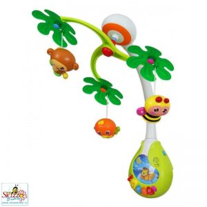 Babymix giostrina per lettino con luci e suoni