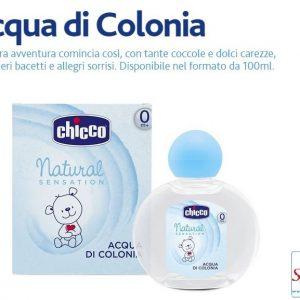 Acqua di colonia Chicco natural sensation
