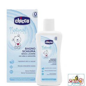 Chicco bagnoschiuma natural sensation