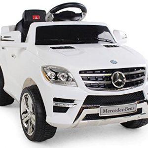 Auto Elettrica per Bambini 6V 2 Motori con Telecomando MERCEDES BENZ ML 350