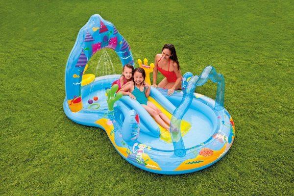 Intex piscina gonfiabile castello delle principesse