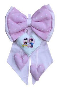 Fiocco nascita Disney Minnie o Topolino