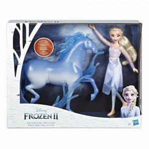 Hasbro Disney Frozen 2 Fashion Doll Elsa e Nokk ispirati al film Disney Frozen