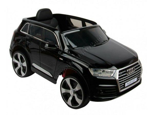 Macchina Elettrica per bambini 12V Audi Q7 Nero Mp3 e Telecomando