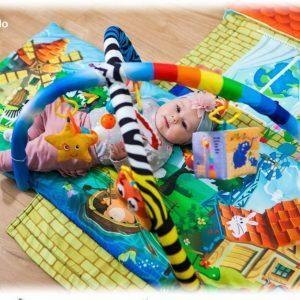 Palestrina per Neonati con protezione giocattoli