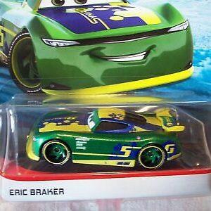 Disney Pixar Cars - Eric Braker - 2019 Nuovo Rilascio Prossimo Gen Piloti