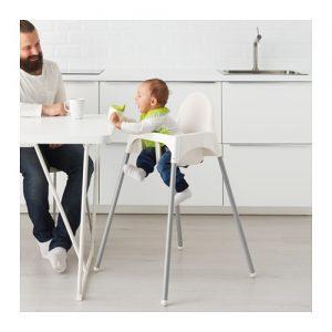 Ikea Seggiolone Pappa bimbo Seggiolino Leggero con Cintura di Sicurezza