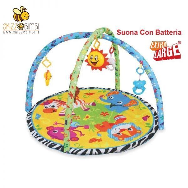 Babymix palestrina tappeto gioco neonato musicale